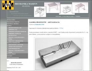 mechanika maszyn jeleśnia nowa strona www